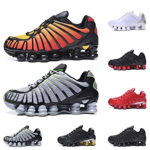 nike shox TL SUNRISE Università Red Clay Arancio Lime Blast triple mens famosi neri Athletic Sneakers Sport Dimensioni 40-46