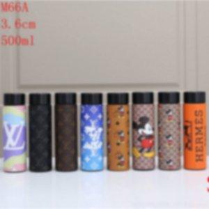 500ML дизайнер бутылки воды роскошь бутылки воды с дисплеем температуры 20062202X