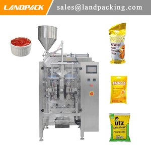 Fully Automatic Liquid Packaging Machine Ketchup Liquid Sauce Vertical Form Fill Seal Machine Convenient And Practical