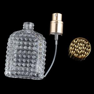 Nouveau style d'ananas bouteille de parfum en verre Portable avec un aérosol vide Atomiseur Rechargeables Bouteilles 30ml 50ml En vente