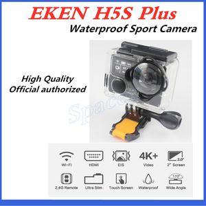 High Quality Original EKEN H5S plus Waterproof DV EIS Native 4K Ultra HD Sports Camera WIFI HDMI 170 Wide Angle 2.4G Remote