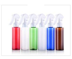 100ml Square Shoulder Colorful Spray Bottle Cosmetics Packing Plastic bottles Mist Spray Trigger Refillable SN4420