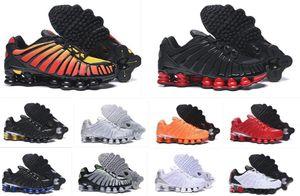 Hotsale scarpe da corsa per gli uomini di sport TL R4 SUNRISE Università Red Triple NERO di Clay Orange Speed rosso della calce Blast sneakers dimensioni allenatore 7-12