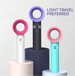 기본 wholsales 최고의 가격으로 한국을 leafless 팬 Zero9 충전식 USB 휴대용 넓지 팬 휴대용 미니 쿨러
