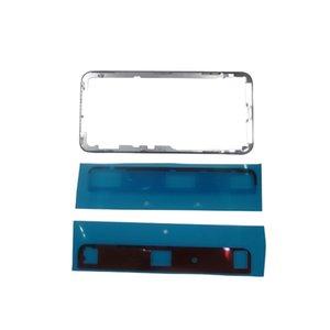 Middle Bezel Frame LCD Touch Screen Front Bezel Housing with Sticker for iPhone X 10 Broken LCD Repair Fix Jiutu