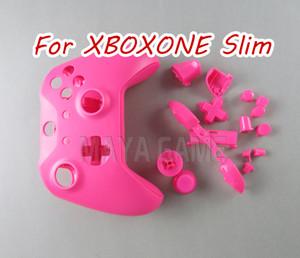 Para O Xbox One Slim Kit De Substituição De Mod Shell Completo Para O Controlador Slim Matte Do Xboxone S, Capa Personalizada Com Botões
