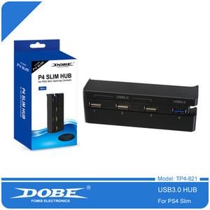 Hub USB récent DOBE Pour PS4 Slim 4 en 1 Adaptateur High Speed 1 USB 3.0 Port 3 ports USB 2.0 pour PS4 Slim Gaming Console Accessoires