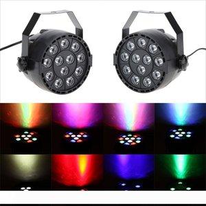 Parti Ana KTV Disco DJ için Sahne Aydınlatma Aydınlatma Etkisi RGB Strobe Par Işıklar Lamba 8 Kanal