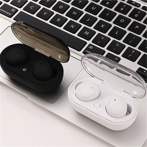 New TWS wireless earphone bluetooth 5.0 in ear earbuds wireless Sports headset with microphone handsfree ear buds for phones