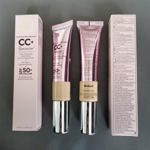 Trucco CC crema trucco la pelle, ma meglio CC + Crema correzione del colore Illuminating Full Coverage crema anti-età 32ml Idratante Siero