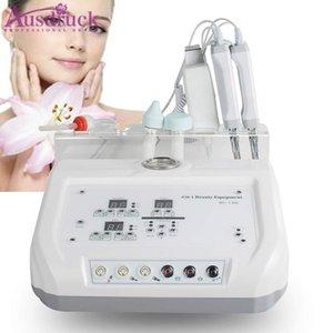 4 En 1 microcourants Bio Diamant Microdermabrasion dermabrasion peau du visage Scrubber Soins de la peau Salon de beauté Appareil Spa pour le visage de la peau Lift