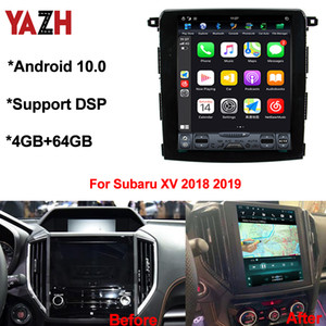 Android 10.0 Auto radio For Subaru XV  Crosstrek  Forester 2018 2019 Multimedia GPS Navigation RAM 4GB+64GB DSP CAR DVD Head Unit