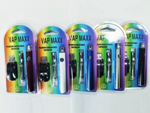 Vap Max W3 Başlangıç Seti 350mAh Vertex Onceden VV Pil Vape Kalem 0.5ml 1.0ml 92A3 Kartuş Tankı hakiki ile
