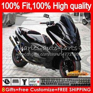 Inyección para YAMAHA TMAX500 negro stock MAX500 MAX500 T 12 13 14 15 83HC.25 TMAX500 TMAX 500 MAX TMAX500 2012 2013 2014 2015 carenados