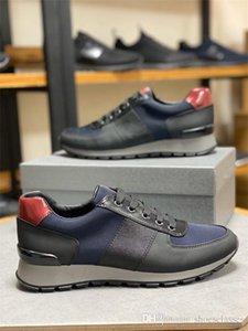 Prada shoes diseño en color Camoufalge Spikes Rockrunner hombres zapatilla de deporte de la manera de los zapatos ocasionales de las zapatillas de deporte xg200402