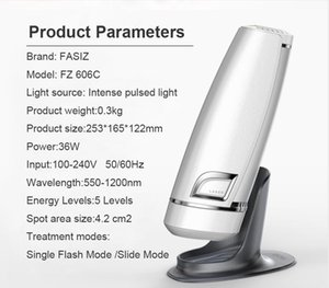 Rimozione Fasiz 3in1 Photoepilator IPL Depilator Femminile Electricepilator permanente indolore dei capelli DHL di spedizione libero del laser Epilatore