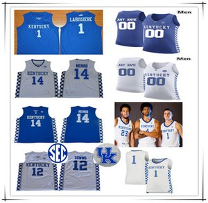 2021 Kentucky Wildcats Трикотажные изделия Баскетбол Ник Ричардс Иммануил Quickley Nate Sestina EJ Montgomery Ashton Hagans Tyrese Maxey Booker Wall