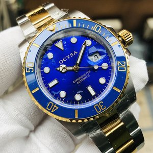 Mechanical Automatic Men Watch Gold Relogio Masculino Reloj Ceramic Bezel Sport Mens Watches Wristwatch