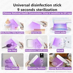 LED UV Sanitizer Hand Wand health care product virus germs Bacteria killer sterilization equipment with uv light lamp bulb E32407