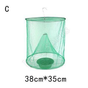 قابلة لإعادة الاستخدام الخضراء الحشرات فخ الأخطاء ECO تعليق ZZA735N ذبابة الماسك قفص نايلون شبكة في الهواء الطلق أداة لمكافحة الحشرات