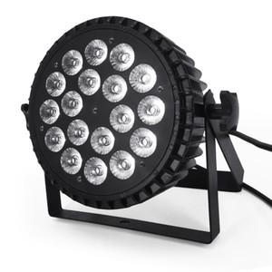 파 액션 플랫 파 빛 DMX 무대 조명이나 파티 KTV 디스코 DJ 램프 사운드 수 LED 18x18w 알루미늄 합금 RGBWA + UV의 6in1