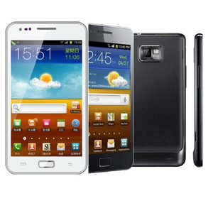 """Android Samsung I9105 Galaxy S II Plus I9105P 4.3 """"3G WIFI 8GB ROM 1GB RAM 8MP Téléphone rénové"""