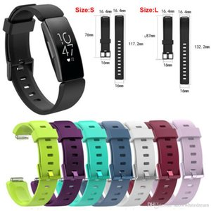Newest Replacement Silicone Classic Fashion Sports Wrist Strap Band For Fitbit Inspire Inspire HR Watch Band