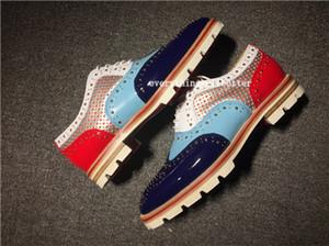 Balenciaga Shoes Livraison gratuite 2020 Progettista Red Shoes Bas cristal en cuir Chaussures Hommes Chaussures Femmes Rivet hérissés junior de Spike Sock Krystal Donna