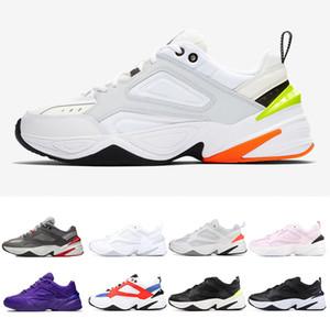 2019 superior M2K Tekno vieja clásica para hombre zapatos casuales retro retro zapatos para las mujeres Atlética diseñador profesional negro rosa negro zapatos blancos