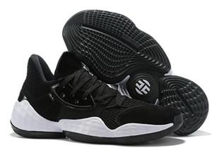 2019 новые тренеры Хардны Vol.4 Баскетбол обувь, модные кроссовки Обучения стрит, красивая выпускные отчет резиновых простой обувь онлайн
