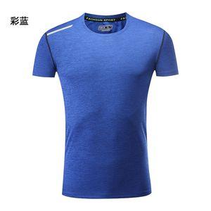19ss Оптовая мужская и женская йога фитнес Ночной Бег спорт спортивная скорость сухой футболка тренажерный зал обычно используется мужские дизайнерские футболки