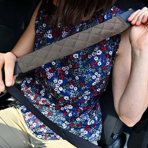 Car Seat Belt Shoulders Pads Covers Cushion Warm Short Plush Safety Shoulder Protection Auto Interior Accessories