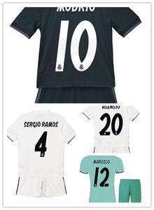 Kids kit HAZARD 2019 Real Madrid Trikots 19 20 home ASENSIO BENZEMA MODRIC RAMOS drittes grünes Trikot Junge Kind Jugend Trikot