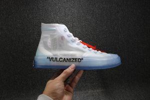 Designer Fashion Off Luxury 2019 Brand Uomo Scarpe da basket all'aperto per gli uomini Trainer White Running Sneakers Sport Sport Mocassini Dimensioni 5-12