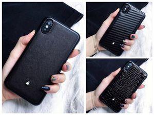 Top Quality Designer Cas de téléphone de luxe pour iphone X XS XR Xs Max 6
