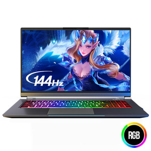 IPASON Ganing Computer-15,6 Zoll Intel Core i7 Ultra-Thin-Gaming Gaming Laptop / i7 9750H 16G RAM 1T SSD GTX1660Ti 144Hz High-Rate