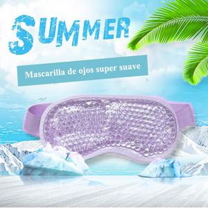 2020 Masque Eye Gel sangle réglable pour Chaud Froid Therapy Beauté Gel relaxant et apaisant Masque pour les yeux Sleeping Ice Lunettes Masque de sommeil