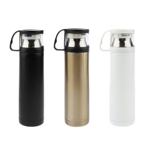 Stainless Steel Water Bottle Outdoor Insulated Leakage-proof Drink Cup 500ml Drink Flask Bottle