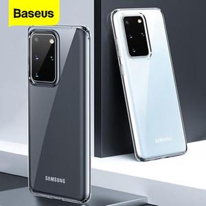 Baseus Effacer Téléphone cas pour Samsung S20 Case Coque mince souple TPU transparent pour Samsung Galaxy S20 + S20 Ultra Fundas