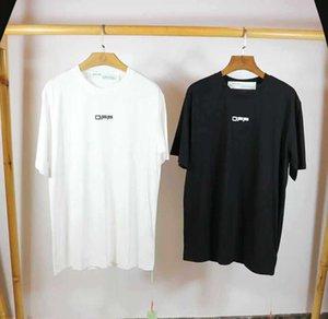 Avrupa ve Amerikan gelgit marka kapalı ow Our Lady İsa dini yağlıboya HD dijital baskı kısa kollu T-shirt