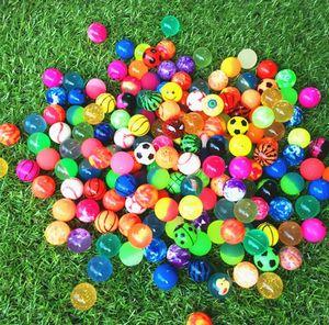 Durchmesser 25mm Gummi Hallo Bouncing Bälle Bouncy Ball Bild Bouncing Ball für Kinder Dekompression Spielzeug Amusement Toys