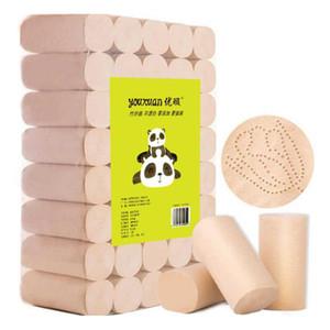 Bambù e legno in fibra di carta igienica greggi naturali e senza Aggiunto a quattro strati Necessities quotidiano Laminati di trasporto