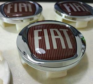 Для FIAT 60MM Auto Логотип Эмблема центра колеса Hub Крышки Крышки ABS Rim Caps Fit Viaggio OTTIMO