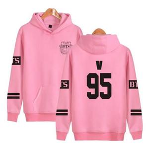 Hoodies Sweatshirts Frauen / Männer Bts Bangtan Boys Harajuku Winter-beiläufige Hoodies Bts Kpop Frauen S Plus Size4XL K -Pop Kleidung