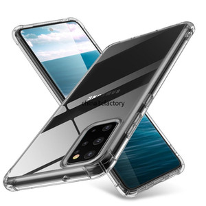 Clear TPU Case For Samsung Galaxy S20 Plus S20 Ultra A51 A71 M21 M31 A11 A81 A91 A01 A31 A21 A41 A50 A70 Airbag Anti-Knock Cover