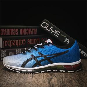 Asics  shoes 2020 Scarpe da corsa scarpe da tennis Tapered reazione alti all'ingrosso nuovo gel-Quantum 360 5 uomini della Gioventù del 2020 casuale comodo 36 Translucent Uomo