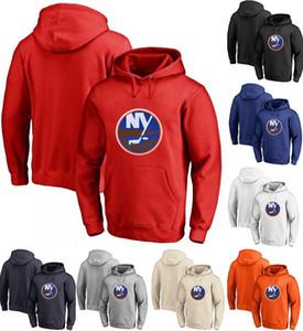 Islanders Hoodie 13 Mathew Barzal 12 Josh Bailey 15 Cal Clutterbuck personalizou Hockey Sweatershirt Jerseys