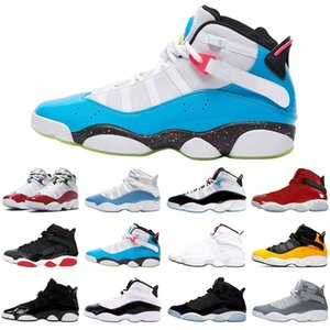 6 6s ring men women basketball shoes south beach bred concord athletics outdoor mens trainers sports sneakers size 5.5-13