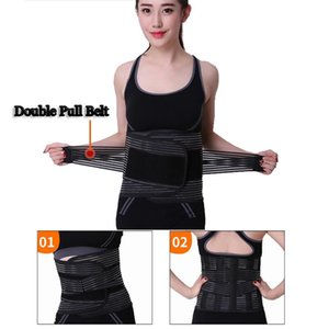 Women Men Waist Support Lumbar Belt Back Brace For Pain Relief Posture Corrector Gym Fitness Waist Protector XXL