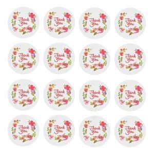 Cuisson Scellant Pâte Littérature Mots D'amour Remercier Bénédiction Autocollant Souvenir Emballage 10 Pièces Tickers Vente Directe À L'usine 0 23lb p1